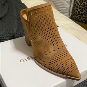 Gibson * Latimer Nora Booties in camel color